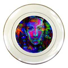 Night Dancer Porcelain Plates by icarusismartdesigns