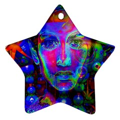 Night Dancer Star Ornament (two Sides)  by icarusismartdesigns