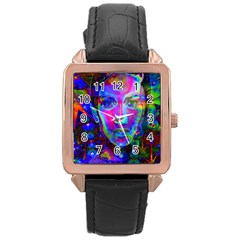 Night Dancer Rose Gold Watches by icarusismartdesigns