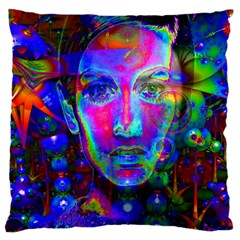Night Dancer Large Flano Cushion Cases (one Side)  by icarusismartdesigns