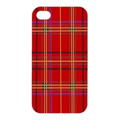 Plaid Apple Iphone 4/4s Premium Hardshell Case by JDDesigns