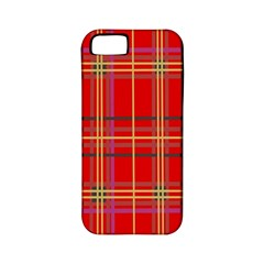 Plaid Apple Iphone 5 Classic Hardshell Case (pc+silicone) by JDDesigns
