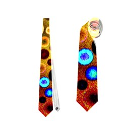 Colourful Circles Pattern Neckties (two Side)