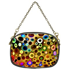 Colourful Circles Pattern Chain Purses (one Side)  by Costasonlineshop