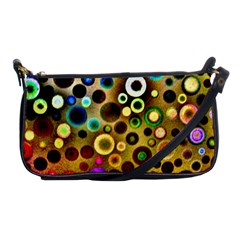 Colourful Circles Pattern Shoulder Clutch Bags