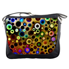 Colourful Circles Pattern Messenger Bags