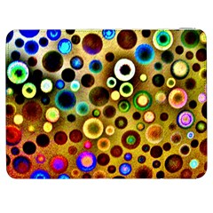 Colourful Circles Pattern Samsung Galaxy Tab 7  P1000 Flip Case by Costasonlineshop