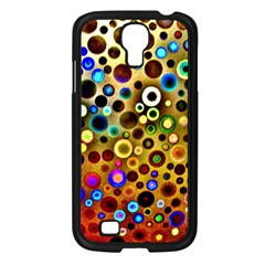Colourful Circles Pattern Samsung Galaxy S4 I9500/ I9505 Case (black) by Costasonlineshop