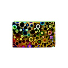 Colourful Circles Pattern Cosmetic Bag (xs) by Costasonlineshop