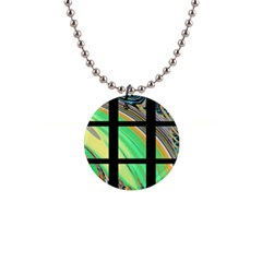 Black Window With Colorful Tiles Button Necklaces by theunrulyartist