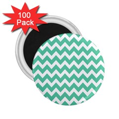 Chevron Pattern Gifts 2 25  Magnets (100 Pack)