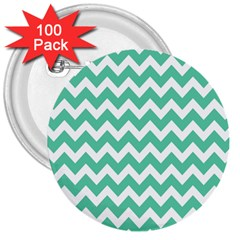 Chevron Pattern Gifts 3  Buttons (100 Pack)