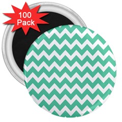Chevron Pattern Gifts 3  Magnets (100 Pack)