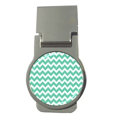 Chevron Pattern Gifts Money Clips (round)