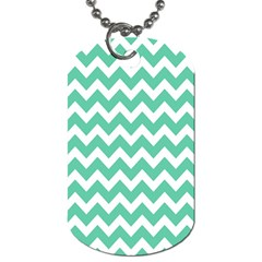 Chevron Pattern Gifts Dog Tag (two Sides)