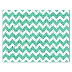 Chevron Pattern Gifts Rectangular Jigsaw Puzzl