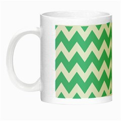 Chevron Pattern Gifts Night Luminous Mugs