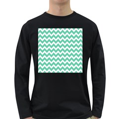 Chevron Pattern Gifts Long Sleeve Dark T Shirts
