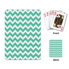 Chevron Pattern Gifts Playing Card
