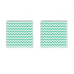 Chevron Pattern Gifts Cufflinks (square)