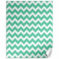 Chevron Pattern Gifts Canvas 11  X 14