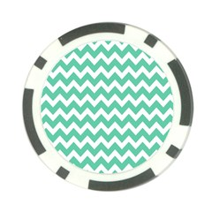 Chevron Pattern Gifts Poker Chip Card Guards