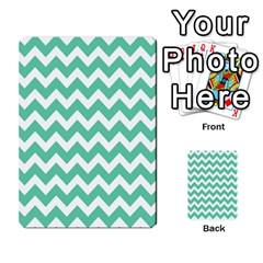 Chevron Pattern Gifts Multi Purpose Cards (rectangle)