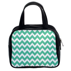 Chevron Pattern Gifts Classic Handbags (2 Sides)