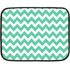Chevron Pattern Gifts Fleece Blanket (mini)