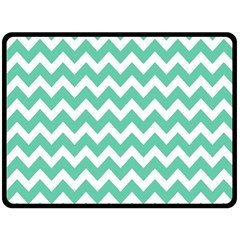 Chevron Pattern Gifts Fleece Blanket (large)
