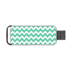 Chevron Pattern Gifts Portable Usb Flash (one Side)