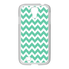 Chevron Pattern Gifts Samsung Galaxy S4 I9500/ I9505 Case (white)