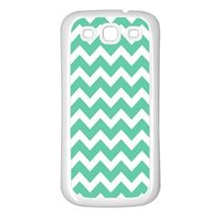 Chevron Pattern Gifts Samsung Galaxy S3 Back Case (white)