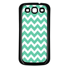 Chevron Pattern Gifts Samsung Galaxy S3 Back Case (black)