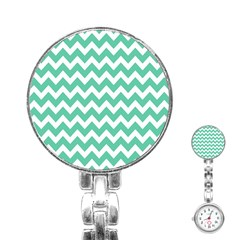 Chevron Pattern Gifts Stainless Steel Nurses Watches