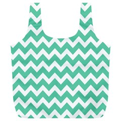Chevron Pattern Gifts Full Print Recycle Bags (l)