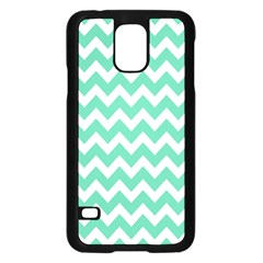 Chevron Pattern Gifts Samsung Galaxy S5 Case (black)
