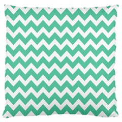 Chevron Pattern Gifts Large Flano Cushion Cases (one Side)