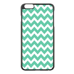 Chevron Pattern Gifts Apple Iphone 6 Plus/6s Plus Black Enamel Case