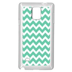 Chevron Pattern Gifts Samsung Galaxy Note 4 Case (white)