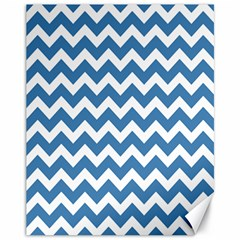 Chevron Pattern Gifts Canvas 11  x 14   by creativemom
