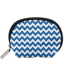 Chevron Pattern Gifts Accessory Pouches (small)  by creativemom