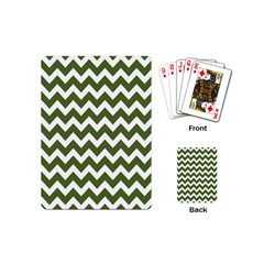 Chevron Pattern Gifts Playing Cards (mini)  by creativemom