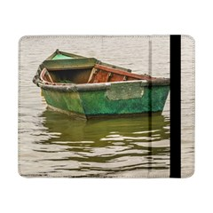 Old Fishing Boat At Santa Lucia River In Montevideo Samsung Galaxy Tab Pro 8 4  Flip Case by dflcprints