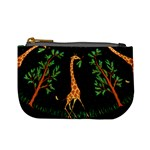 Retro Giraffe Coin Change Purse