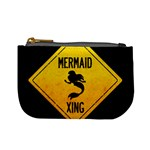 Mermaid Crossing Coin Change Purse Front