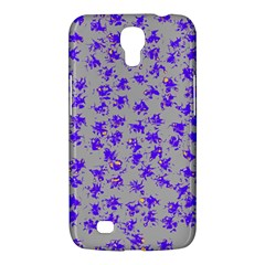 Purple Pattern Samsung Galaxy Mega 6 3  I9200 Hardshell Case by JDDesigns