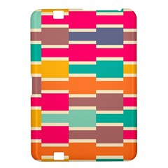 Connected Colorful Rectangleskindle Fire Hd 8 9  Hardshell Case by LalyLauraFLM
