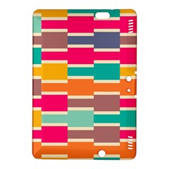 Connected Colorful Rectangleskindle Fire Hdx 8 9  Hardshell Case by LalyLauraFLM