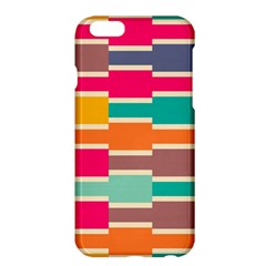 Connected Colorful Rectanglesapple Iphone 6 Plus/6s Plus Hardshell Case